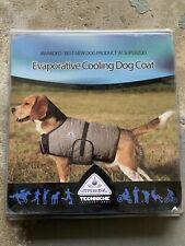 Techniche HyperKewl Cooling Dog Coat Lightweight Blue Extra Large