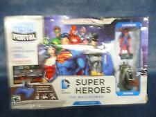 Hero Portal Plug n Play DC Superheros The Watchtower Console & 2 Heroes WORKING