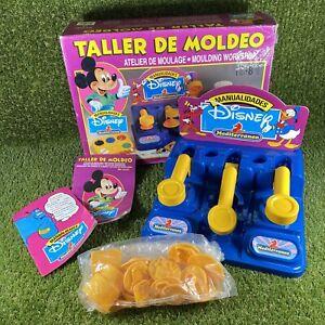 Vintage Disney Spanish Moulding Workshop RARE - Good Condition