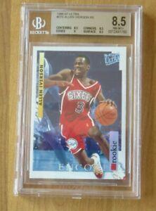 Allen Iverson 1996-97 Ultra #G270 Encore Rookie BGS 8.5 NM/MT+ 76ers