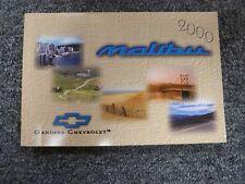 2000 Chevy Malibu Sedan Owner Owner's Manual User Guide Book 1LS 3.1L V6