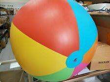 """Classic Multicolored Beach Ball 39"""" Beach Ball, Summer Pool Party, Mega Ball!!"""
