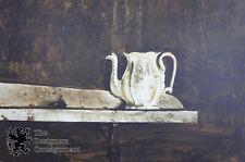 "Andrew Wyeth ""Christina's Teapot"" Collotype Print 241/300 Still Life 1976 Lim Ed"