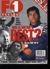 F1 RACING MAGAZINE - July 1996