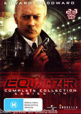The EQUALIZER: The Complete Collection Series 1-4 1+2+3+4 DVD 23-DISCS Region 4
