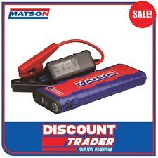 Matson 12V Lithium-Ion Jump Starter 600 Amp  MA18000