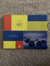 New Listing2002 Oldsmobile Brochure Bravada Aurora Alero Intrigue Silhouette 34 Pages