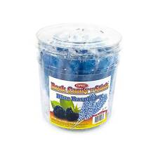 Royal Blue Raspberry-Flavored Rock Candy Sticks: 36 count