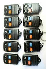 Lot of 10 keyless remote FCC ID GQ43VT4T car key fob entry control transmitter