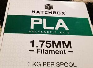 Hatchbox Pla Polylactic 1.75mm Filament (true red,)