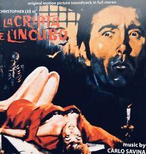 Carlo SAVINA - La Cripta E L'Incubo - Soundtrack CD