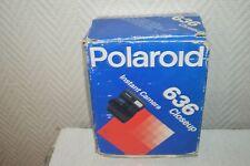 APPAREIL PHOTO POLAROID 636 CLOSEUP VINTAGE EN BOITE FOTO instant camera USA