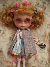 Scarce! Designer ALONSO Honey Dolls 3Piece Blythe Doll Dress Cape Petticoat SET