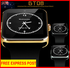 Model 2018 GT08 Bluetooth Sim Smart Watch Phone Wrist watch For iPhone Android