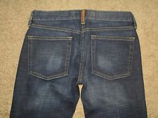 fcuk Jeans Size 2 Flare Dark Blue Stretch Denim Womens Jeans