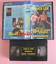 film VHS URLO DI CHEN TERRORIZZA ANCHE L'OCCIDENTE Lee - Norris  (F152) no dvd