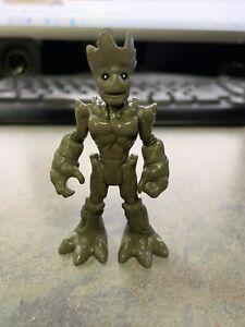 PLAYSKOOL SUPER HERO Adv GUARDIANS OF THE GALAXY Groot FIGURE IMAGINEXT AVENGERS