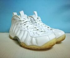 Nike Air Foamposite One ++ WHITEOUT ++ sz 9 US 42.5 EU 314996 100 Jordan Yeezy
