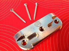 MACO 362358 Sicherheits-Schließblech Pilzkopf + 3 Schrauben Schliessblech Stück