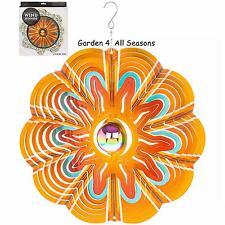 "12""/30cm ORBIT SUNSPLASH Stainless Steel Wind Spinner Sun Catcher Hook Garden"
