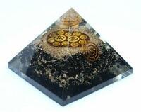 Extra Large 70-75MM Black Tourmaline Crystal for Orgonite Pyramids Healing Reik