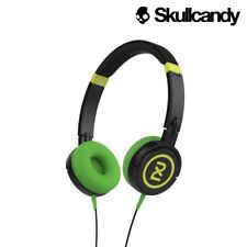 New Genuine Skullcandy 2XL Shakedown Folding Over-Ear Headphones - Black Green