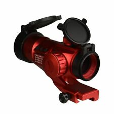 Tactical 35mm Red Green Dot Reflex Optic Sight Red Anodized