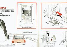 PUBLICITE ADVERTISING 066  1978  Kiraz  (2p) des nuages sur les Parisiennes