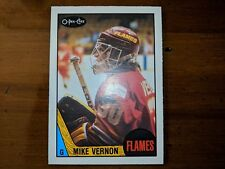 Mike Vernon RC #215 1987 O-Pee-Chee Mint 9