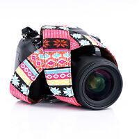 Vintage DSLR Camera Shoulder Strap Neck Belt Hand Grip For Canon EOS Nikon Sony