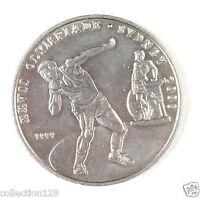 CONGO Coin 100 Francs UNC, 1999, XXVII Olympiade