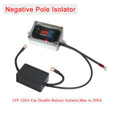 Car Double Battery Isolator Dual Power Bank Protector Max 300A 12V Negative Pole