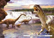 260 pcs jigsaw puzzle: Diplodocus (Dinosaurs) (Castorland 26616)