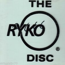 THE RYKO DISC Promo CD