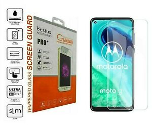 For Motorola Moto P40, G6 2018 Tempered Glass Screen Protector Guard UK Stock
