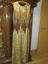 Vintage Abendkleid Magex Couture Ball 60er 70 Neuzustand Paillettentraum