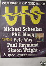 Ufo Concert Tour Poster 1995 Walk On Water