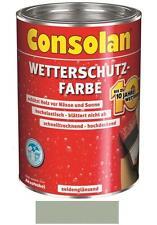 Consolan Wetterschutz-Farbe Grau 10 Liter NEUWARE Art. Nr. 5087478