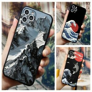 3D Emboss Relief Phone Case For iPhone 13 12 11 Pro Max X XS XR 8 TPU Back Cover