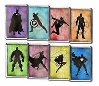 Superhero Fridge Magnets Spiderman Batman Hulk Thor Ironman Avengers Marvel