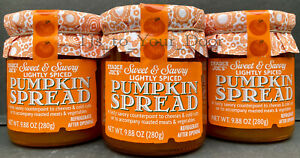 Trader Joe's Sweet & Savory PUMPKIN SPREAD Jam, Preserves ~Choose 1, 2 or 3 Jars