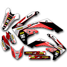 2009 2010 2011 2012 HONDA CRF 450R GRAPHICS KIT MOTOCROSS CRF450R DECALS MX DECA