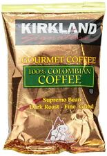 Kirkland Signature 100% Colombian Coffee, Supremo Bean Dark Roast  42/1.75 oz