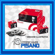 KITBB90 KIT DISCHI + PASTIGLIE FRENO BREMBO ALFA ROMEO MITO 1.6 MJTD 120CV PIENI