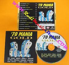 CD Compilation 70 Mania Gold Gianni Bella Pupo New Trolls Pappalardo no lp (C16)