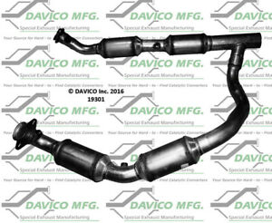 Catalytic Converter-Exact-Fit Front Davico Exc CA 19301