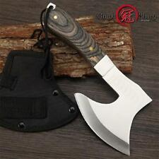 Survival Hunting Tomahawk Axes Hatchet Camping Hand Fire Stainless Steel Axe