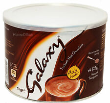 Galaxy Instant Hot Chocolate Large 1Kg Tub Add Water