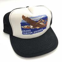 Vintage Grand Canyon Arizona Vacation Snapback Trucker Hat Cap Mesh 1980's T