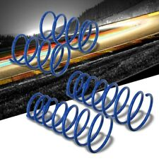 """Blue 2"""" Drop Manzo Race Sport Lowering Spring Coil For 93-97 Mazda MX6 2.0L L4"""